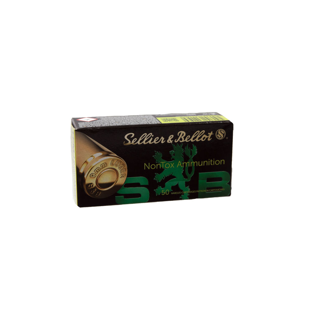 Sellier & Bellot TFMJ NON-Tox 8,0 g / 9mm Luger - 50 Patronen