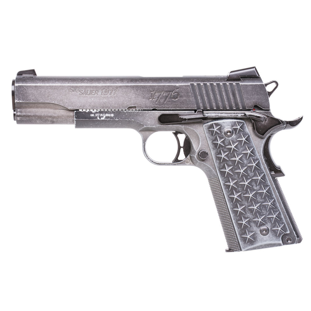 Sig Sauer 1911 WTP Blow Back CO2 Pistole Kaliber 4,5 mm BB