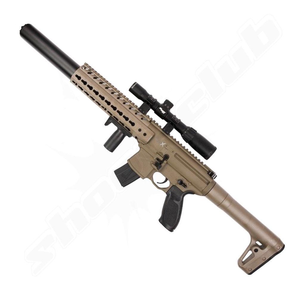 Sig Sauer MCX CO2 Gewehr 4,5mm Diabolo + Sig Sauer ZF 1-4x24