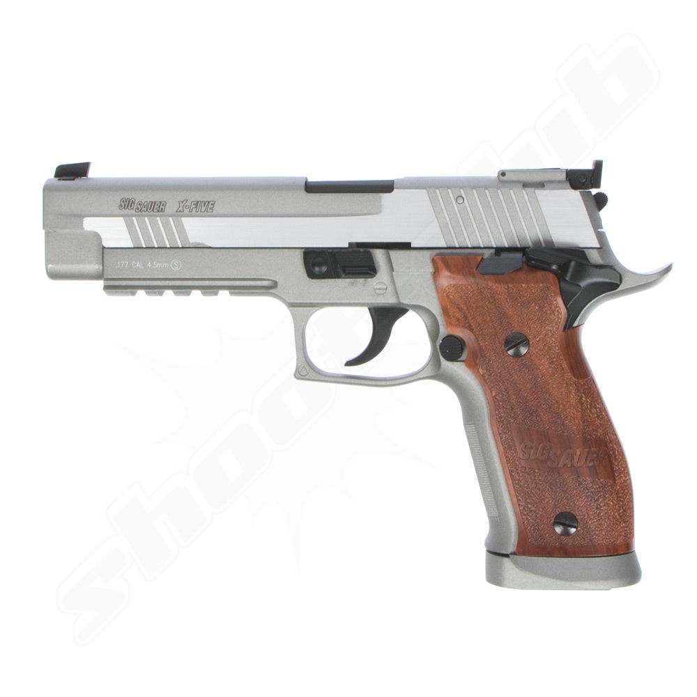Sig Sauer P226 X-Five CO2 Pistole - KWC stainless - 4,5 mm BBs