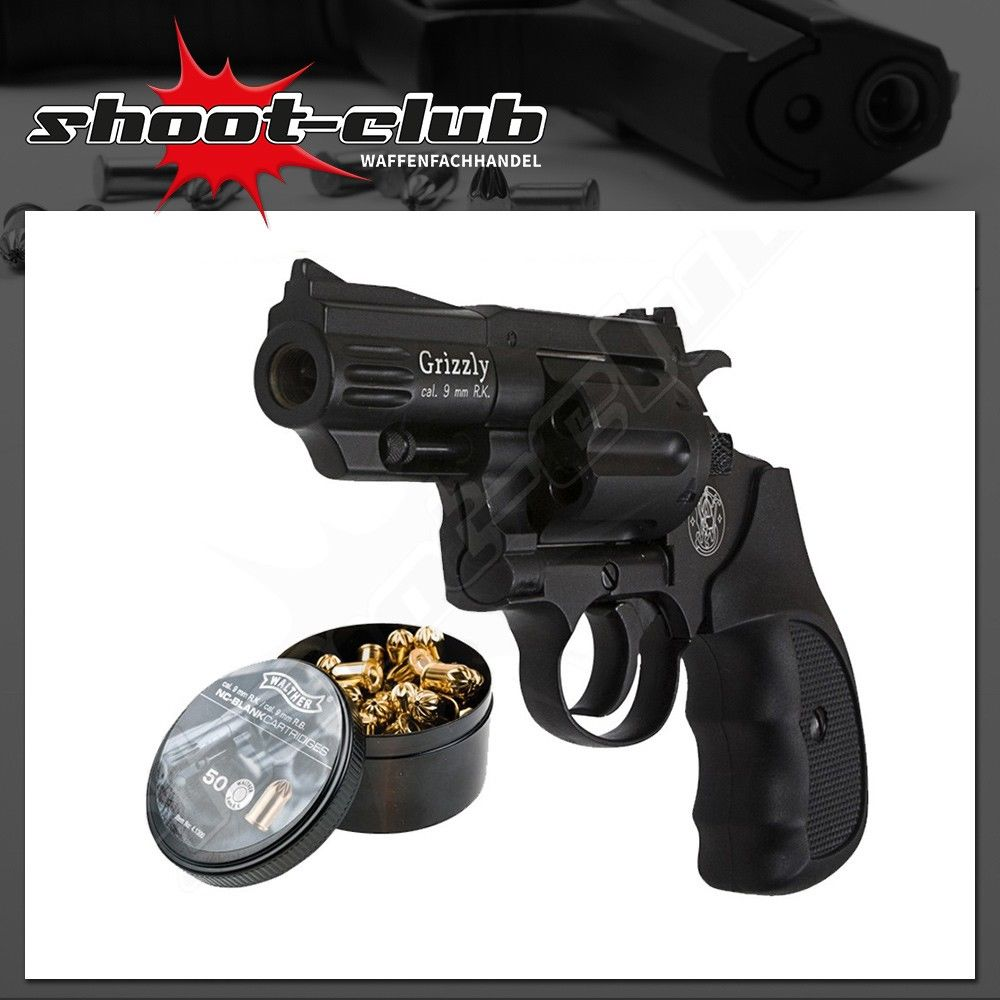 Smith & Wesson Grizzly Schreckschussrevolver 9mm R.K.