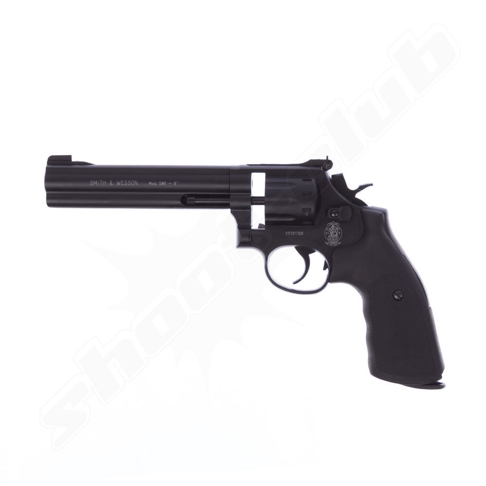 Smith & Wesson 586,Co2 Revolver,6 Zoll, 4,5 mm Diabolo
