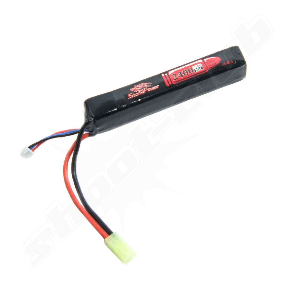 Softair-Akku /LiPo/ 2400mAh 7,4V 20C
