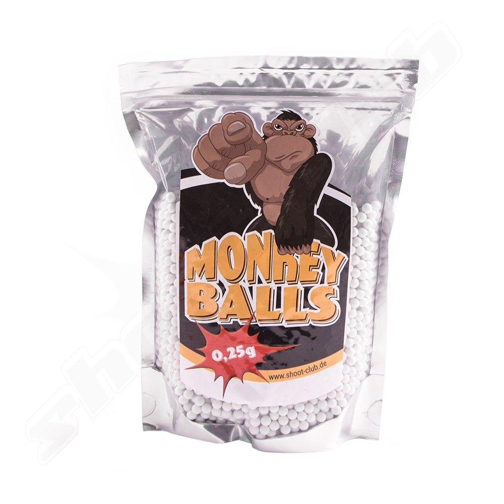 Softair Bio BBs - shoot-club Monkey Balls 0,25g - 1kg