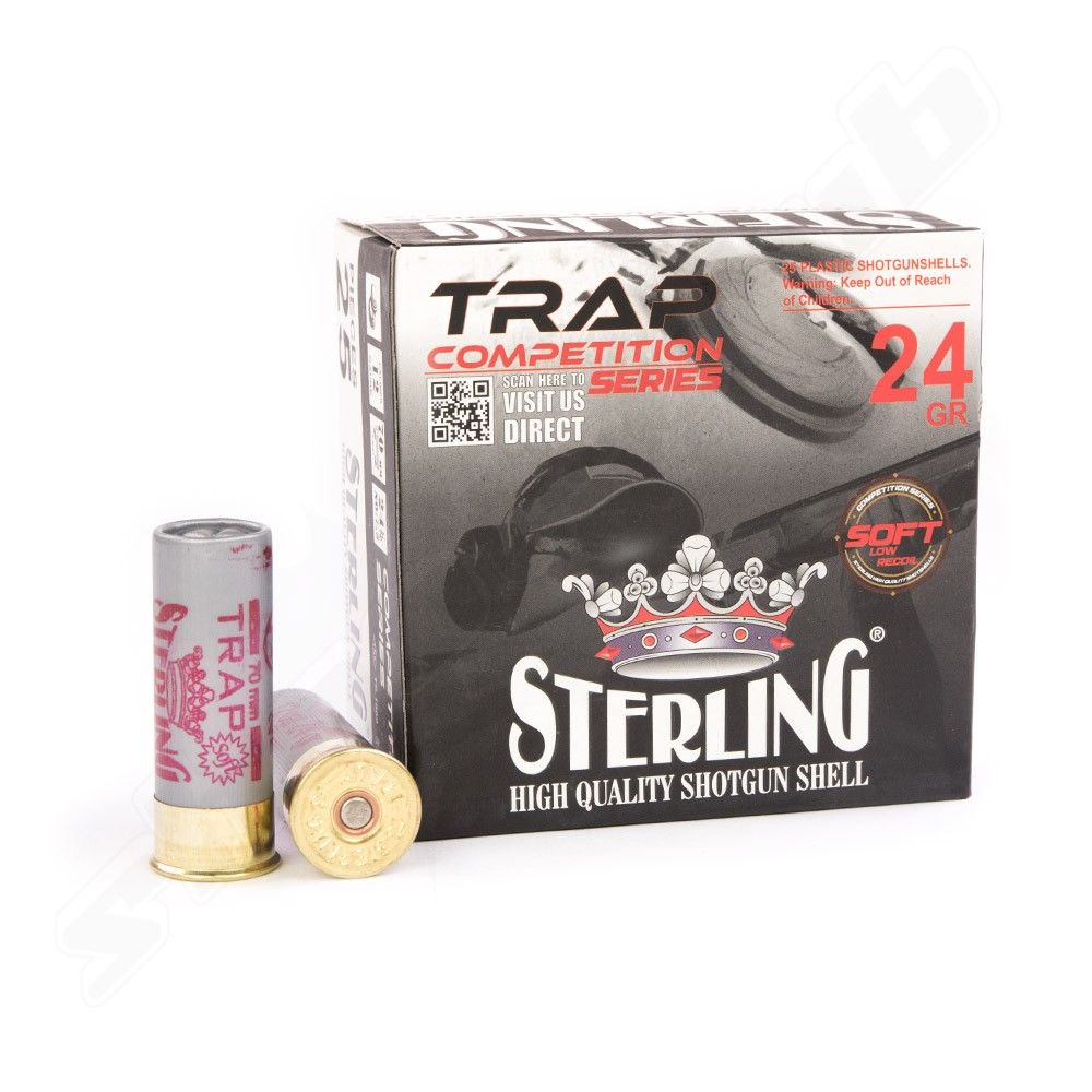 Sterling® Competition Trap Soft 12/70 24g / 2,4mm - 25 Stk