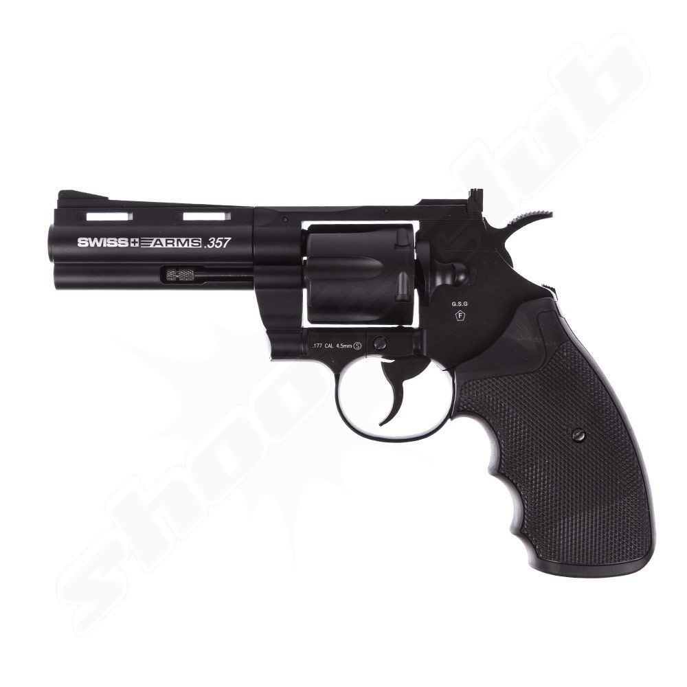 Swiss Arms .357 - 4 Zoll - CO2-Revolver - Kal. 4,5mm BB