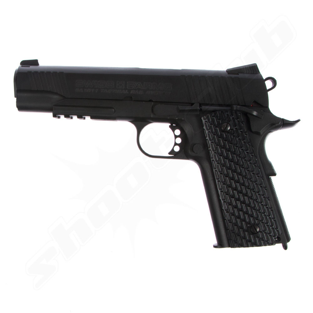 Swiss Arms SA 1911 TRS CO2 Pistole im Kaliber 4,5 mm BB - KWC