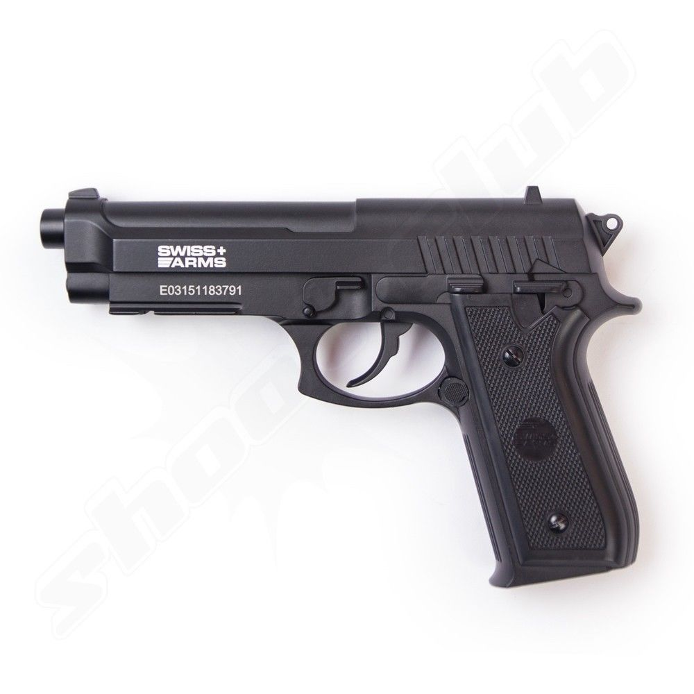 Swiss Arms SA92 CO2 Pistole 4,5mm Stahlkugeln - NBB