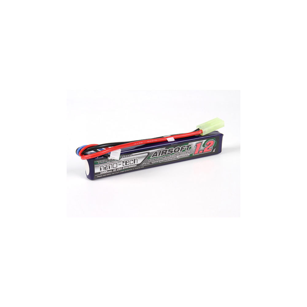 Turnigy Nano-Tech 7,4V 1200 mAh Li-Po Akku Double Stick 15-25C