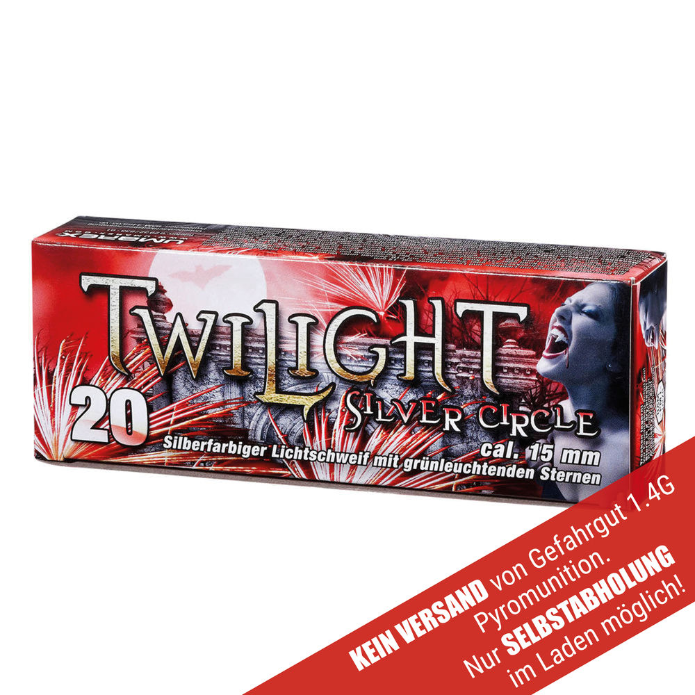 Twilight Silver Circle Patronen Kaliber 15mm