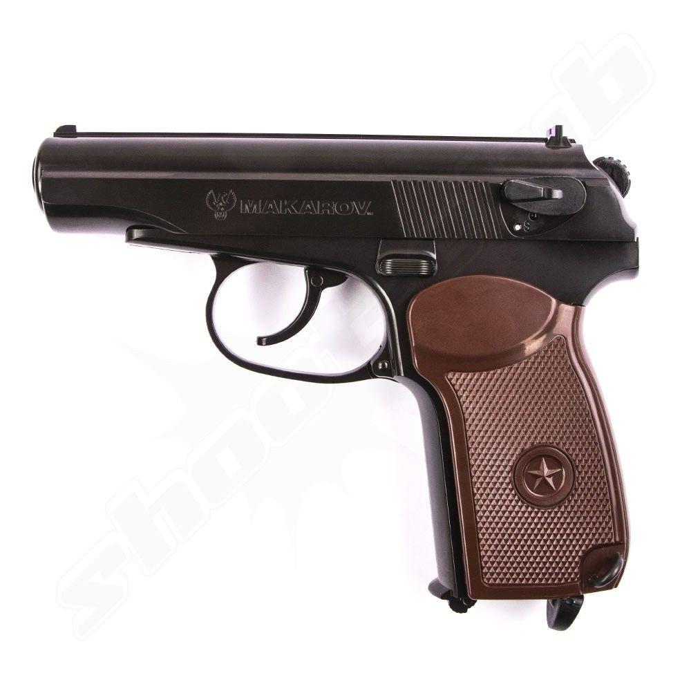 umarex makarov co2 pistole 4 5 mm stahlkugeln. Black Bedroom Furniture Sets. Home Design Ideas