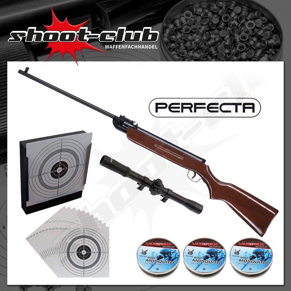 Umarex Perfecta 32 Kal. 4,5mm Diabolos Luftgewehr-Set