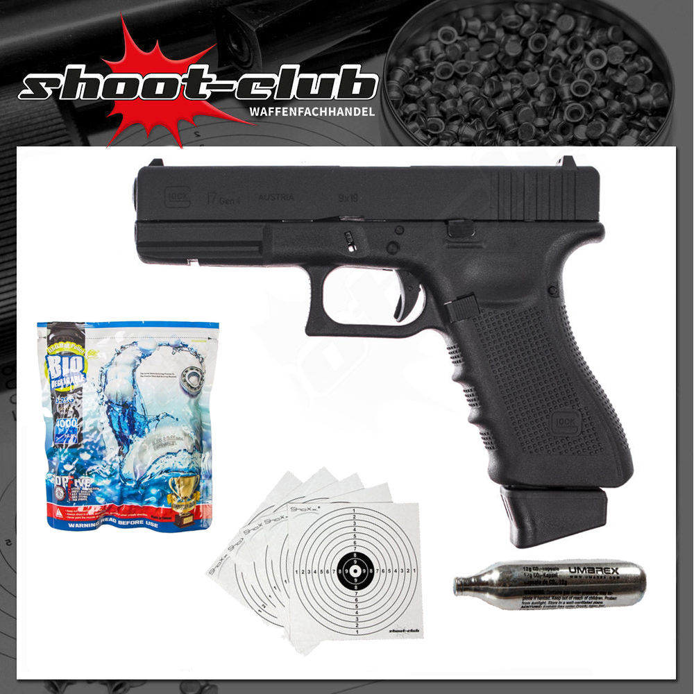 VFC Umarex Glock 17 Gen.4 CO2 GBB Airsoft 6 mm - Set