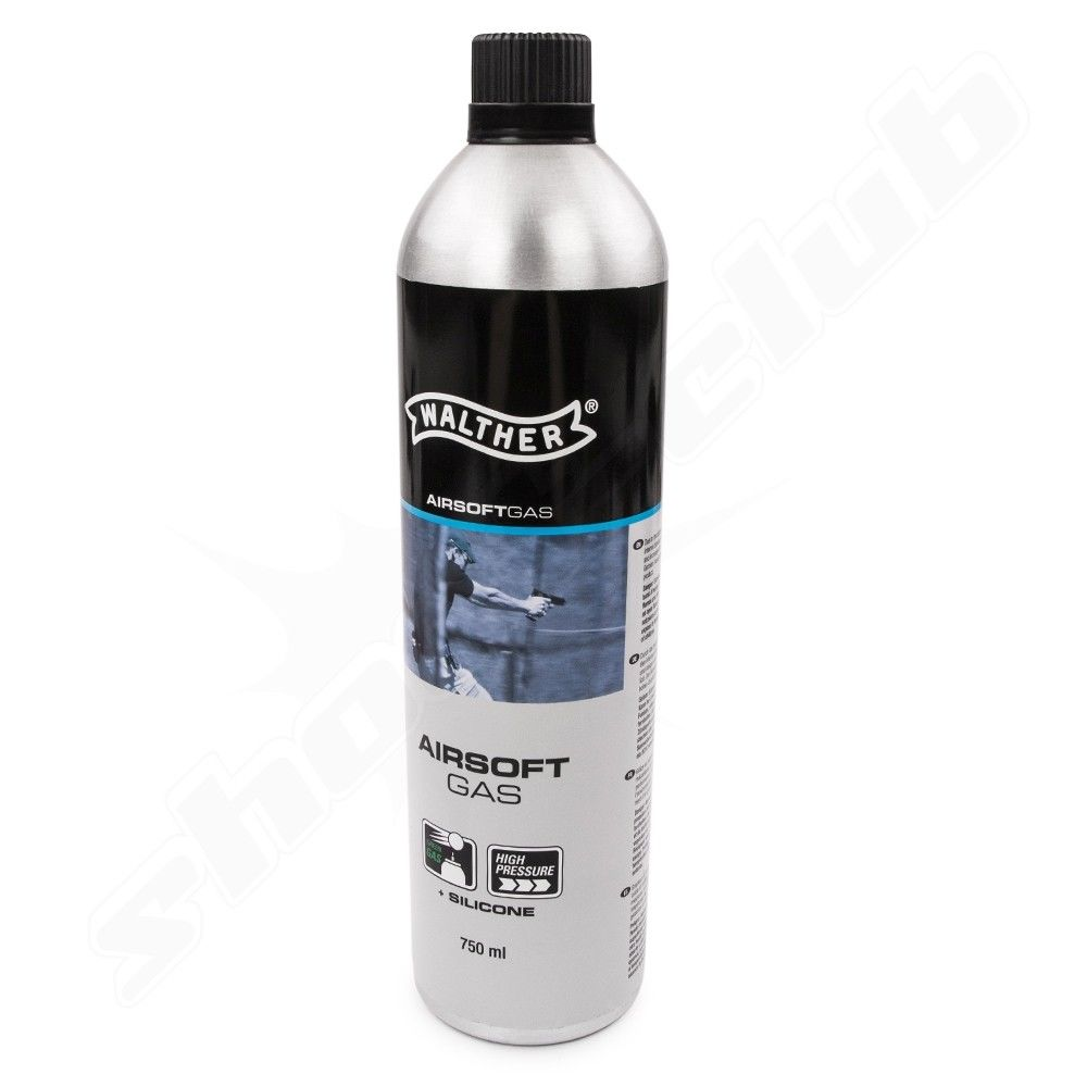 Walther Blow Back Airsoft - Gas mit Silikon - 750 ml