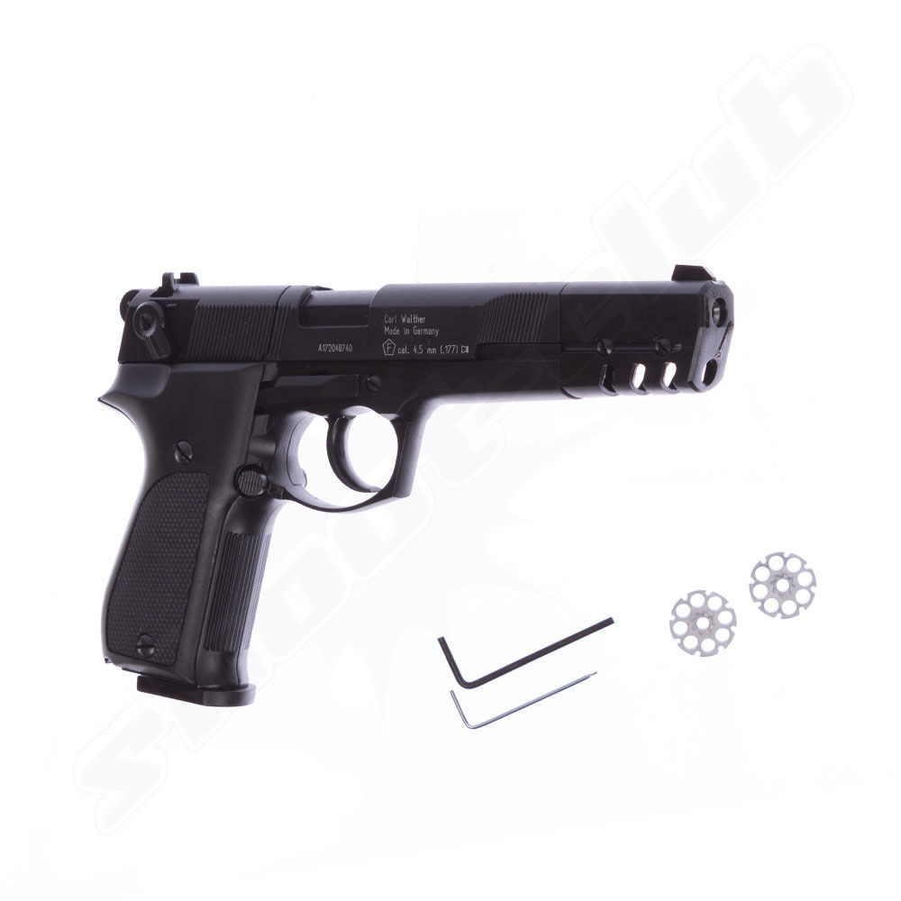 Walther CP88 Competition CO2 Pistole - 4,5mm Diabolos