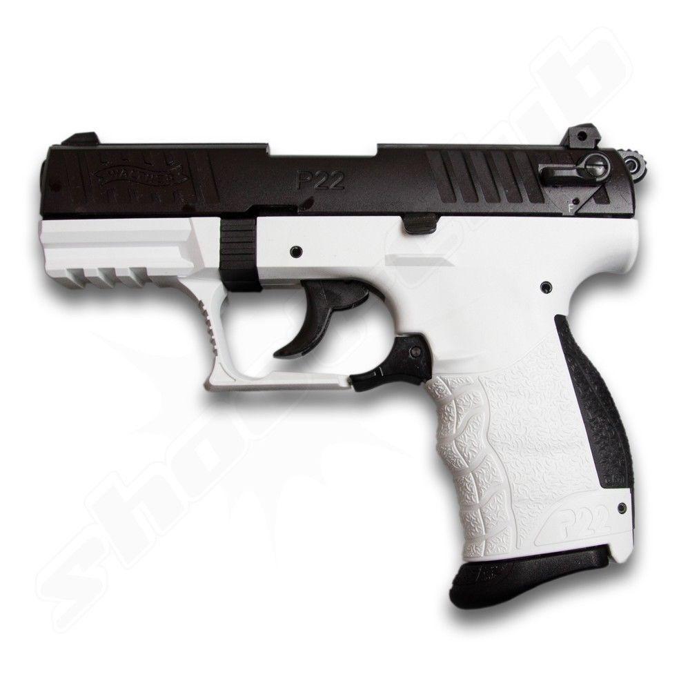 Walther P22Q Chess Schreckschusspistole Kal. 9mm P.A.K.