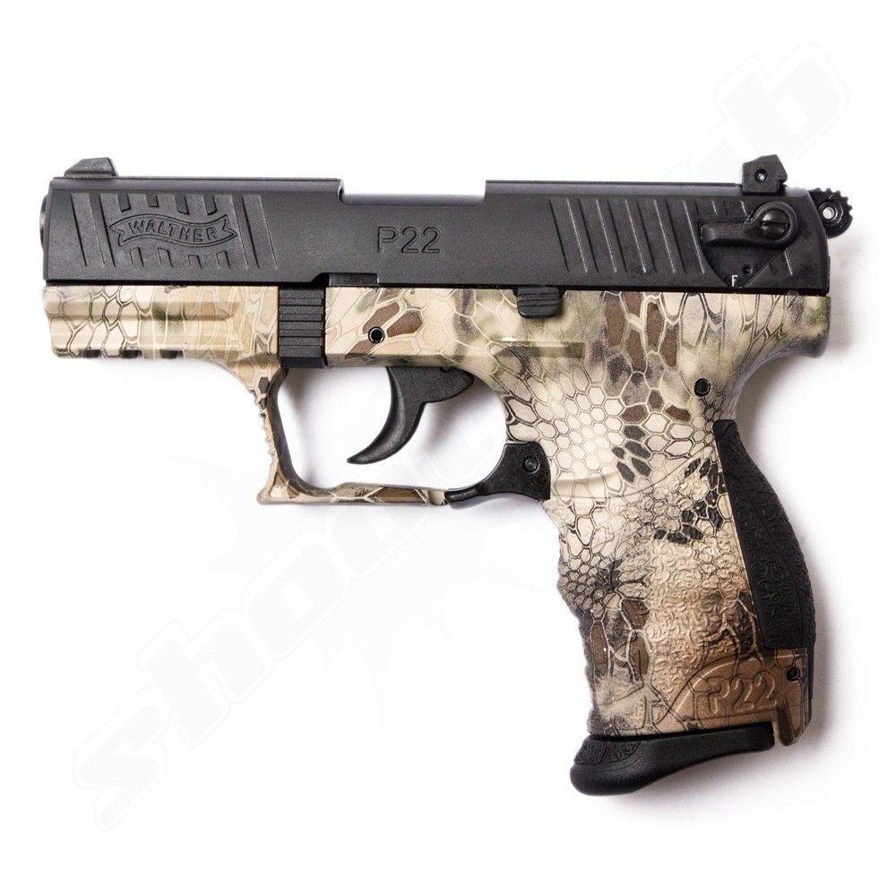 Walther P22Q Kryptek Schreckschusspistole Kal. 9mm