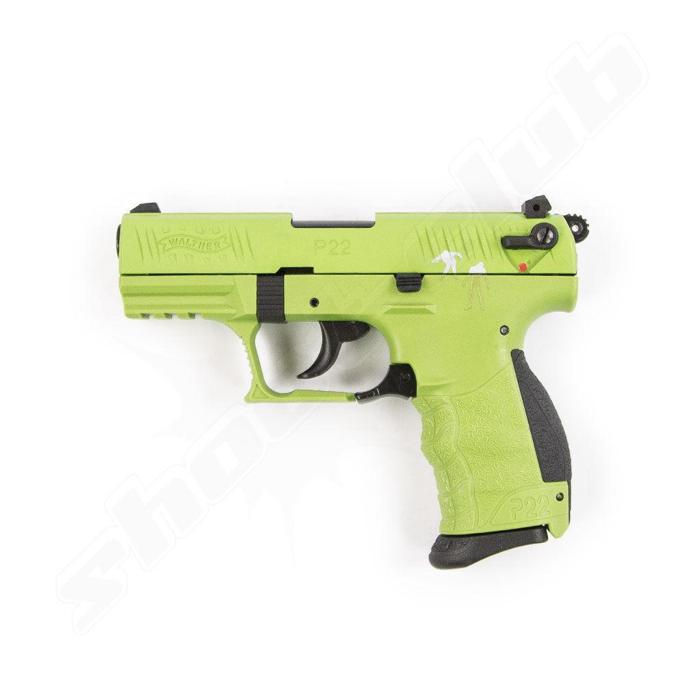 Walther P22Q Zombster Edition Schreckschusspistole Kal. 9mm