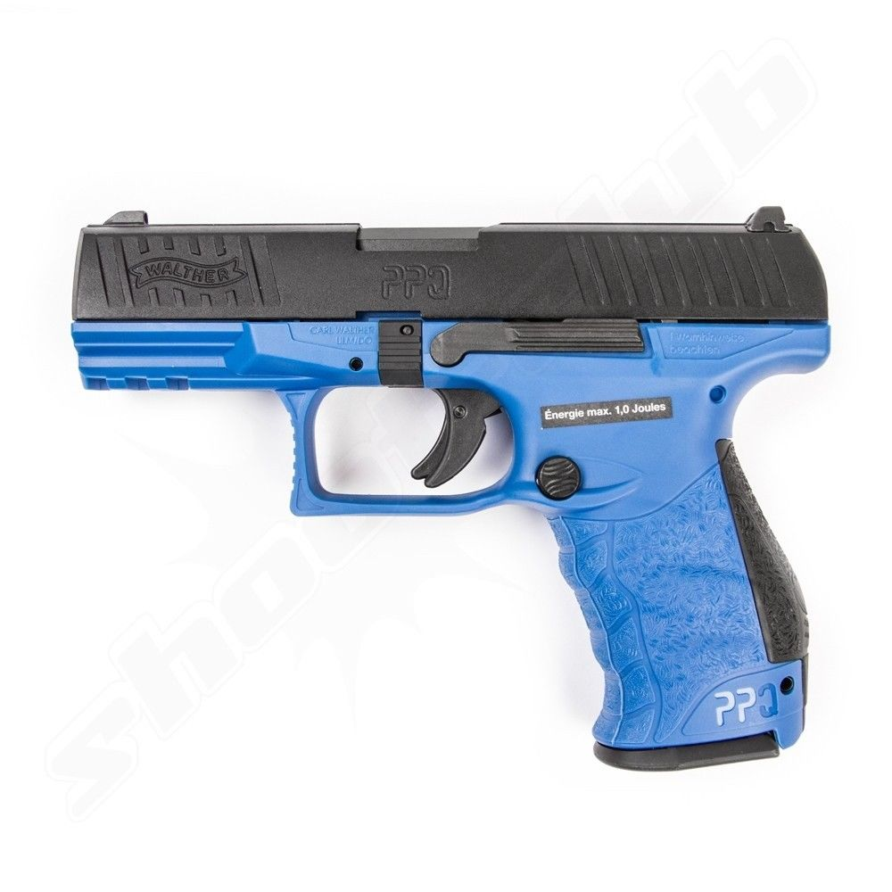 Walther PPQ M2 Softair Pistole 6mm GBB Deep Blue max. 1J  - VFC