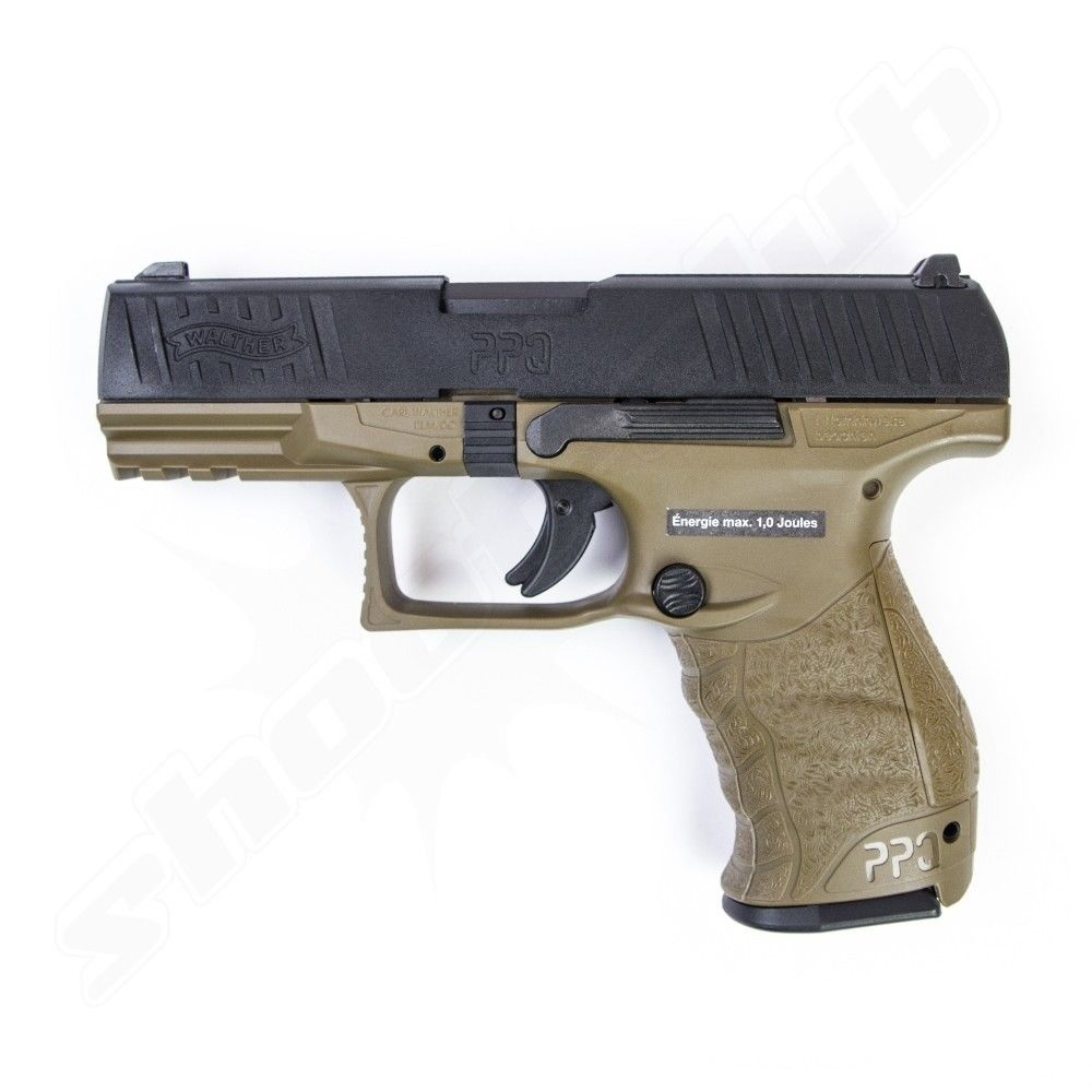 Walther PPQ M2 Softair Pistole GBB VFC 6 mm 1 Joule RAL 8000