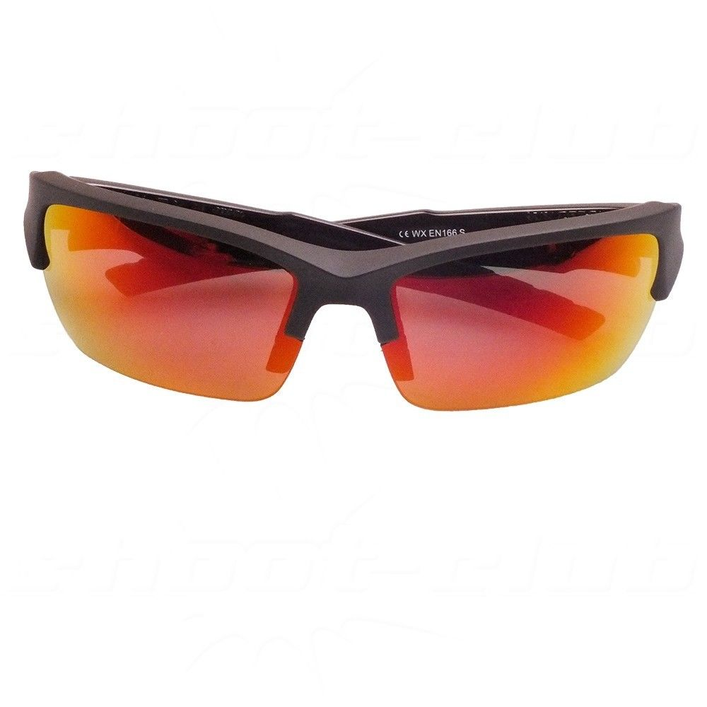 Wiley X - WX Valor R - Polarized-Crimson Schutzbrille