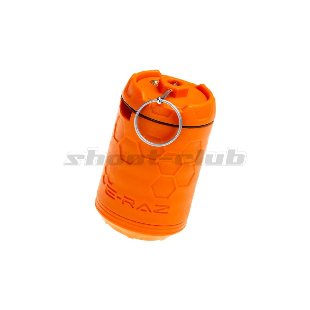 Z-Parts E-RAZ Impact Grenade - Gas Airsoft Granate - Orange