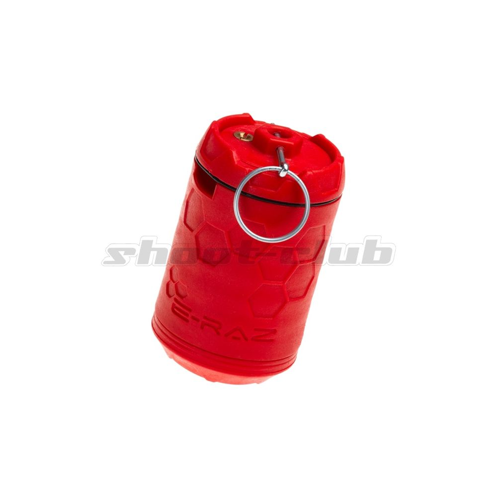 Z-Parts E-RAZ Impact Grenade - Gas Airsoft Granate - Rot