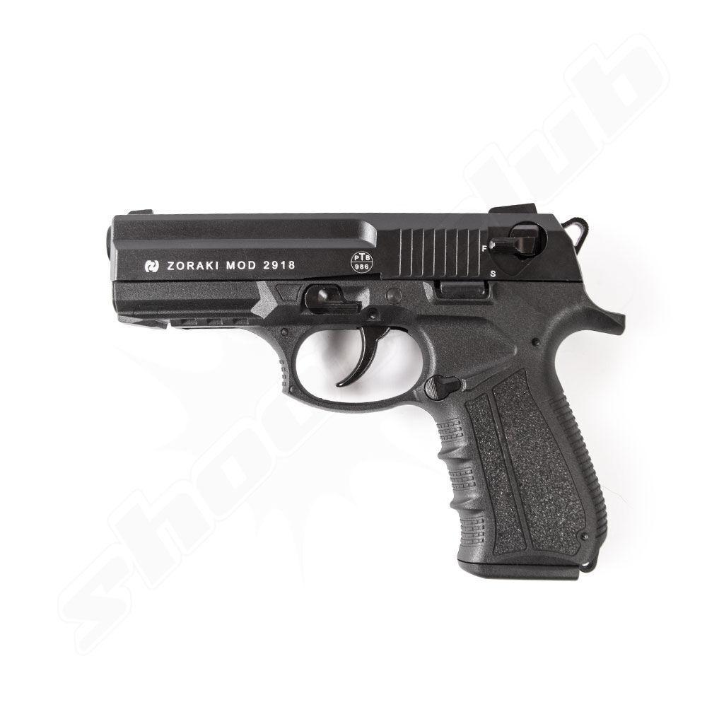 Zoraki 2918- Schreckschusspistole 9mm P.A.K./schwarz