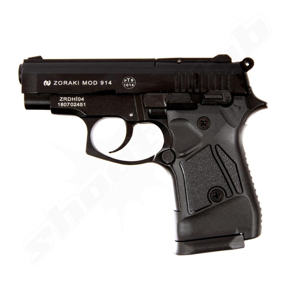 zoraki 914 br niert schreckschusspistole 9mm p a k. Black Bedroom Furniture Sets. Home Design Ideas