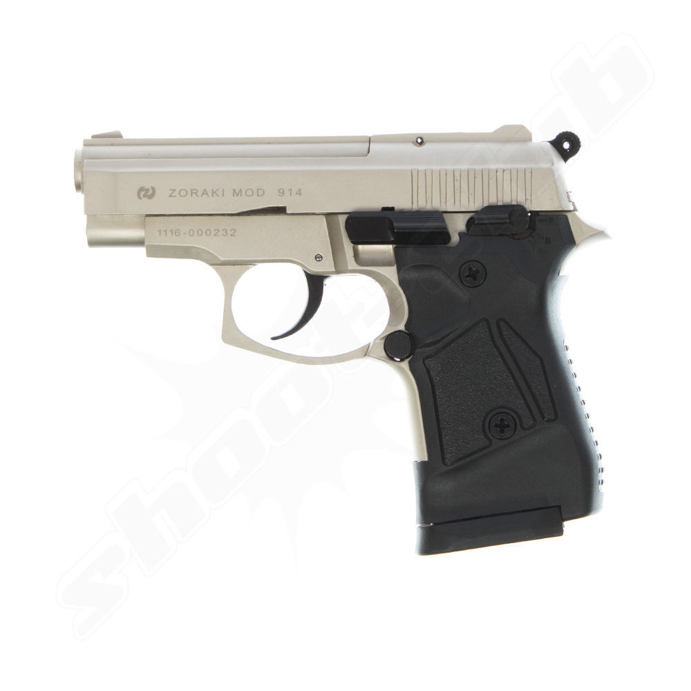 Zoraki 914 satina Schreckschusspistole 9mm P.A.K.