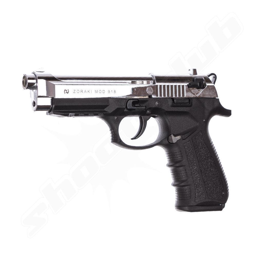 Zoraki 918 Chrom Schreckschusspistole 9mm P.A.K. Sonderedition
