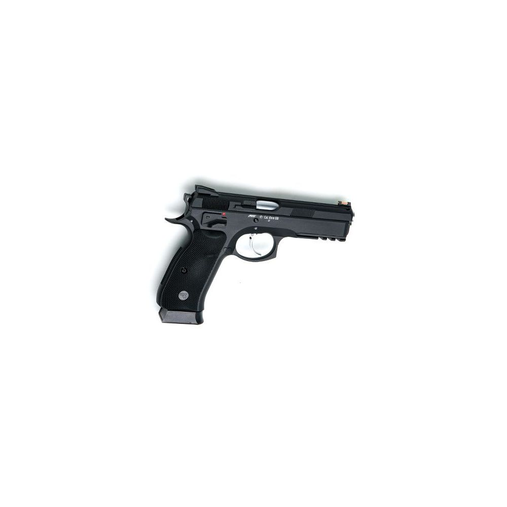 KJ Works CZ SP-01 Shadow Airsoft GBB/CO2 Pistole ab18 - Black Bild 2