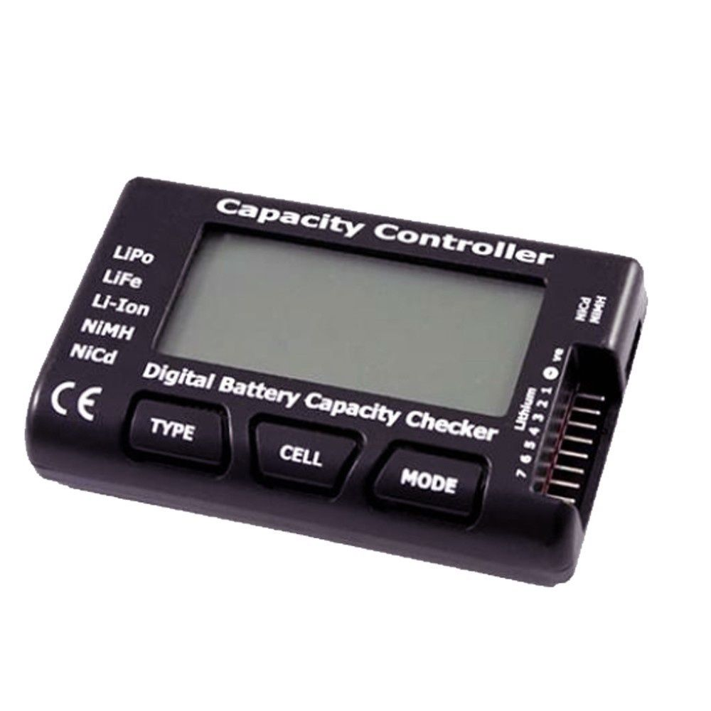 iPower Akku Capacity Controller - digitaler Akku Checker