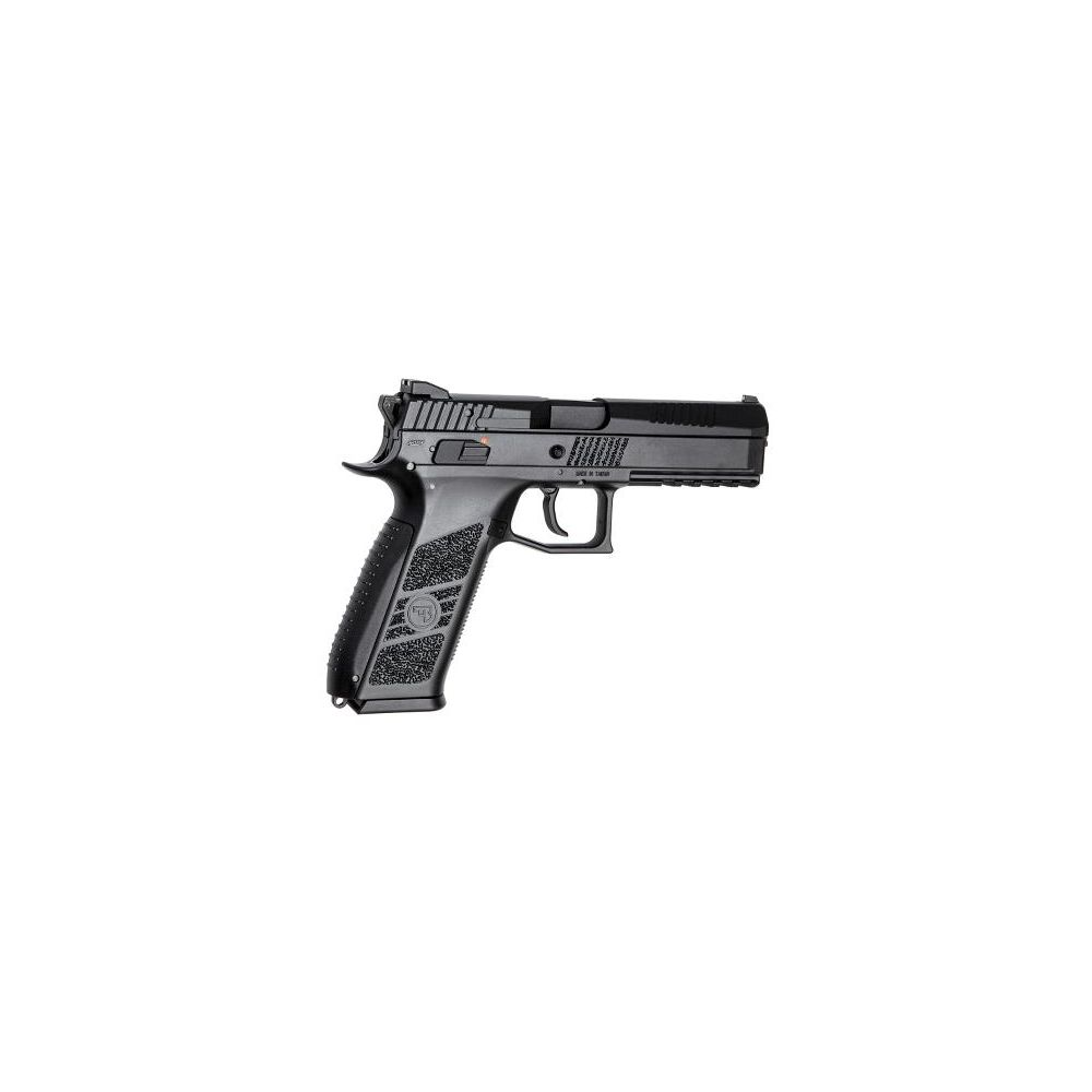 KJ Works CZ P-09 CO2 GBB Pistole 6 mm ab18 inkl. Koffer - Black Bild 2