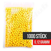 1000 Softair BB Basic Selection 0,12g BBs gelb