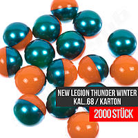 2000 New Legion Thunder Winter Paintballs cal .68 Paintball