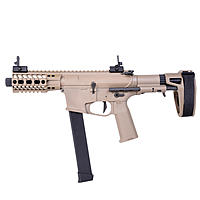 Ares M4 45 Pistol - S-Class S Airsoft SMG S-AEG ab18 - TAN