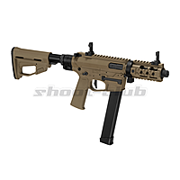 Ares M4 45 Pistol - X-Class  Airsoft SMG S-AEG ab18 - TAN