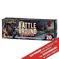 Battle Ground Whistle 20 Schuss Kaliber 15mm