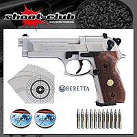 Beretta M 92 FS CO2-Pistole Kaliber 4,5mm - Komplett-SET