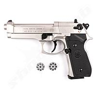 Beretta M 92 FS CO2 Pistole Nickel - 4,5mm Diabolo