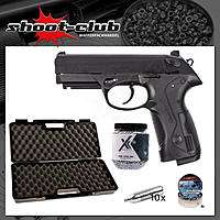 Beretta Px4 Storm CO2 4,5mm BBs & Diabolos - Koffer-Set