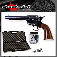 COLT SAA .45 Peacemaker Blue 4,5 mm BBs - Koffer-Set