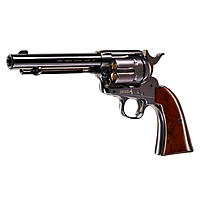 COLT SAA .45 Peacemaker CO2 Revolver 4,5 mm Stahl BBs - Blue
