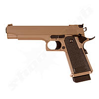 CYMA CM.128 Hi-Capa 5.1 AEP 0,5 Joule Airsoft Pistole ab 14 in der Farbe TAN