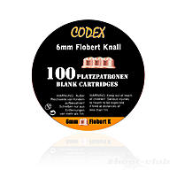 Codex 6mm Flobert Platzpatronen, 100 Stk