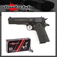 Colt Government 1911 A1 brüniert 9 mm P.A.K. + Platzpatronen