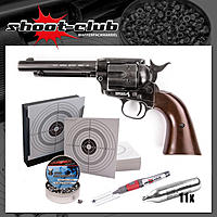 Colt SAA .45 5,5 CO2-Revolver 4,5mm Diabolos - Set