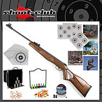 DIANA Two Fifty 250 Luftgewehr 4,5mm Diabolos im Super-Target-Set