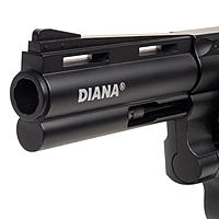 Diana Raptor 4Zoll CO2 Revolver 4,5mm Diabolos - Set